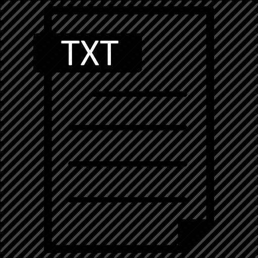 Plain Text Format